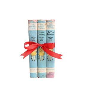 Vintage Book Gift Set: The Bobbsey Twins - Set of 3
