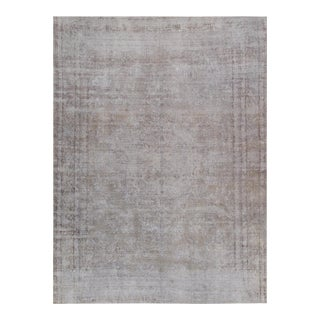"""Pasargad Vintage Overdyed Wool Area Rug - 9'1"""" X 12'7"""""""