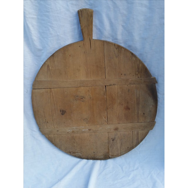 Antique German Pine Baker's Tray - Image 2 of 4