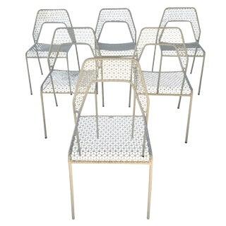 Blu Dot White Hot Mesh Chairs - Set of 6