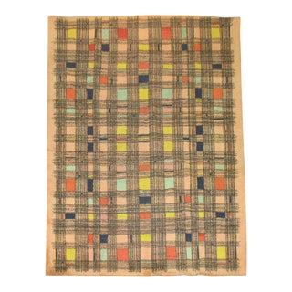 """Vintage Zeki Muren Pile Rug - 6'10"""" X 10'"""