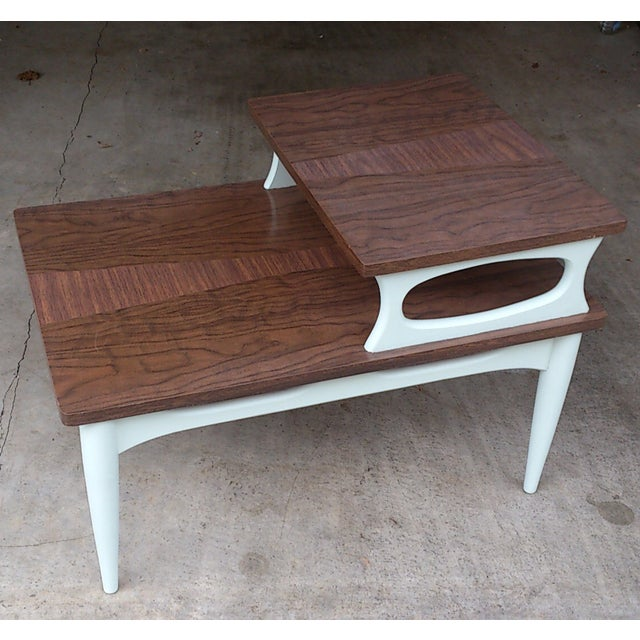 Mid-Century Two Level End Table - Image 2 of 7