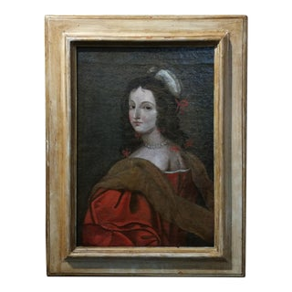 17th century Old Master-Portrait of a Elegant Woman- Oil painting