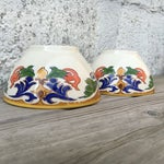 Image of Hand Made Painted Bowls - Pair