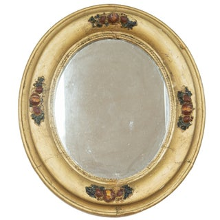 Vintage 1940s Gold Painted Mirror