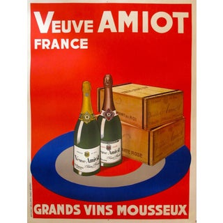 1926 French Art Deco Wine Poster