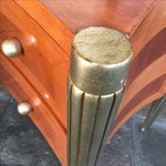 Image of Art Deco Custom Cherry Nighstands - A Pair