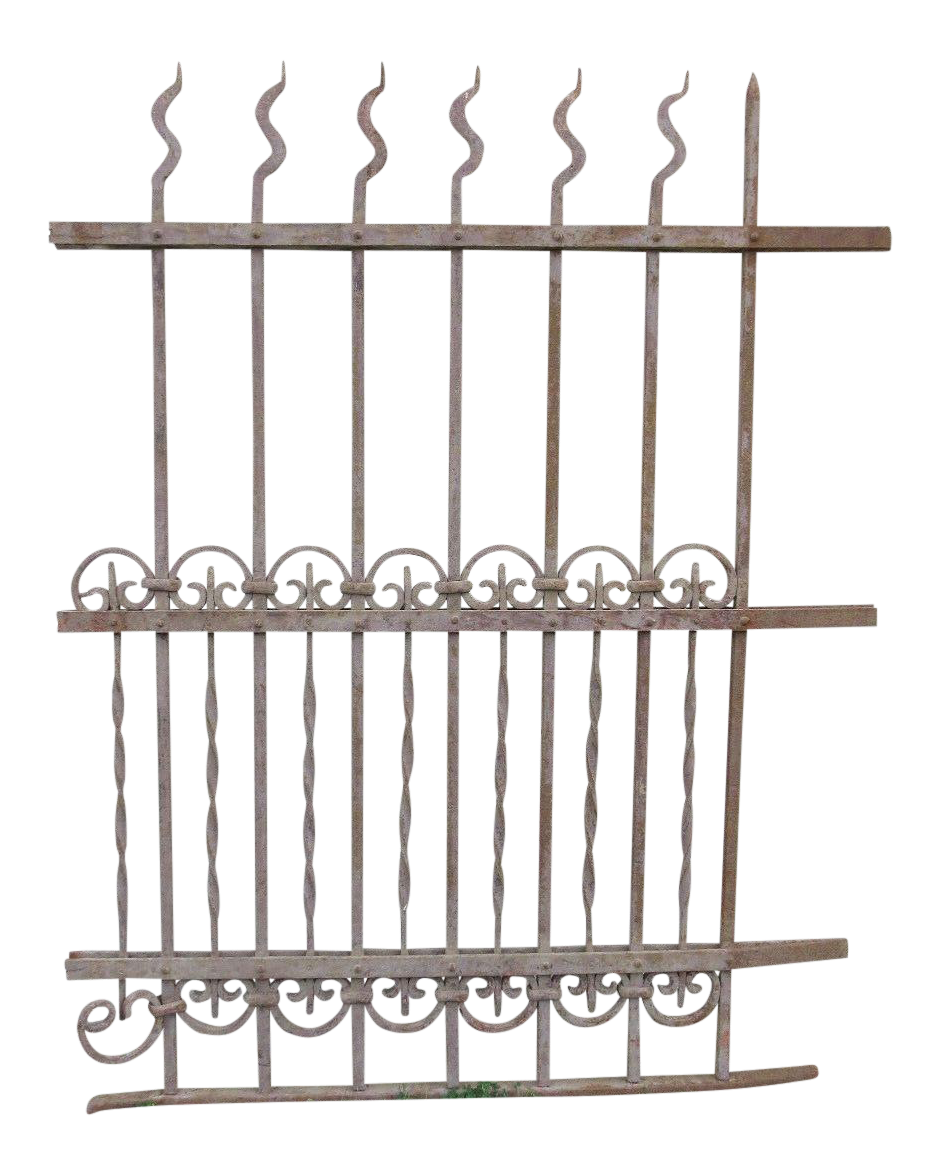 Antique Victorian Garden Fence Salvage