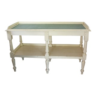 French Provincial Island or Sideboard