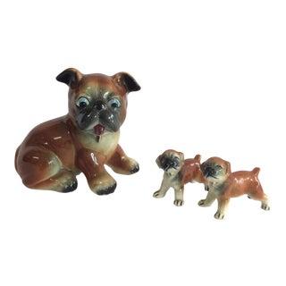 Mid-Century Ceramic Dogs - Set of 3