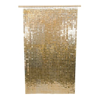 Gold Paco Rabanne Space Curtain