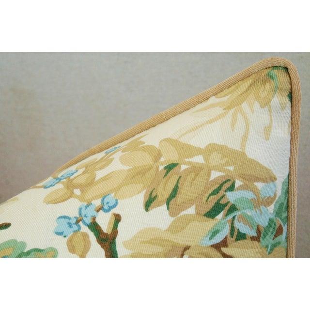 Designer Brunschwig & Fils Foliage Pillows - Pair - Image 7 of 11