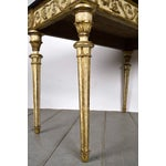 Image of French Louis XVI-Style Giltwood Console