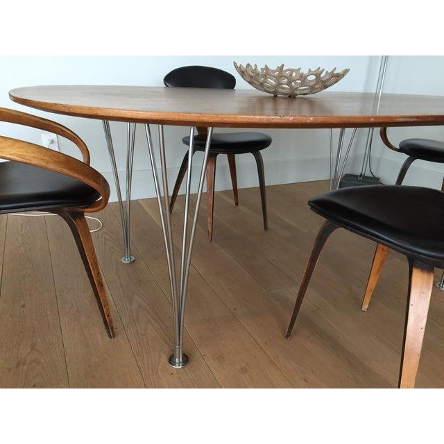 Piet Hein Bruno Mathsson Ellipse Dining Table - Image 7 of 8