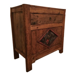 Rustic Style Solid Wood Console