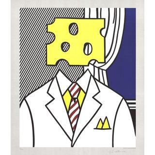 1982 Roy Lichtenstein Jobs Not Cheese! Print