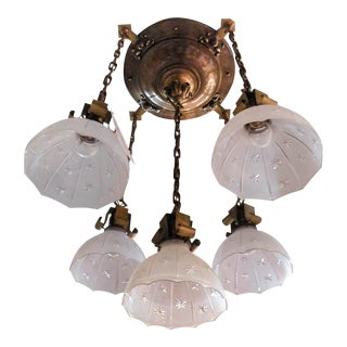"""TUNGSTOLIER"" Flush Mount Light Fixture (5-Light)"
