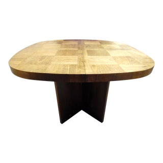 Lane Mid Century Brutalist Dining Table