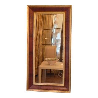 19th C. Gilded Mahogany Mirror