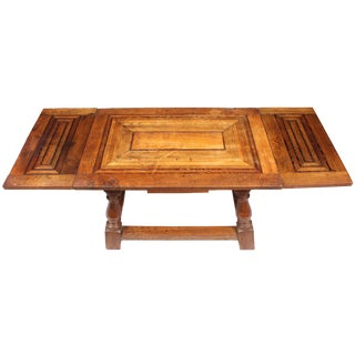 1920s Cherry Mahogany & Oak Coffee Table