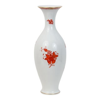 Herend Hungarian Chinese Bouquet Vase