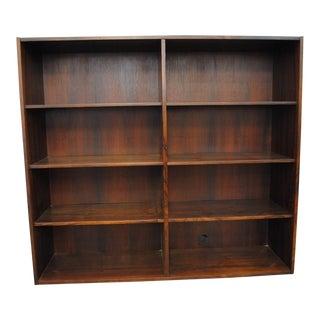 1960's Lovig Danish Modern Rosewood Bookcase
