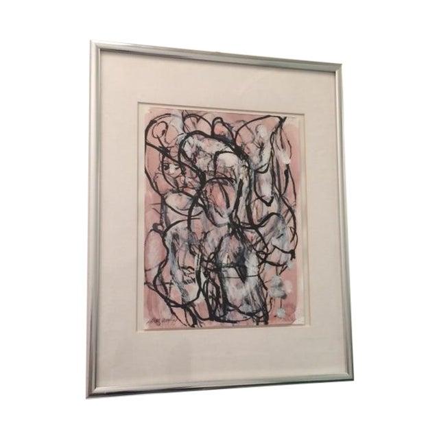 Image of Laura Yang Ink Painting Seashell