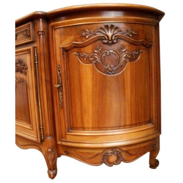 Vintage French Rococo Sideboard 1950 Louis XV - Image 3 of 8