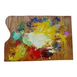 """""""Splash"""" Artist Oil Paint Palette"""