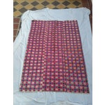 Image of Tribal Embroidered Silk Wedding Quilt