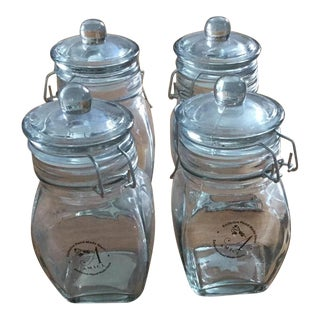 Global Amici Glass Jars - Set of 4