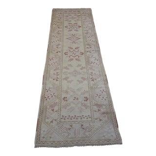 Oriental Turkish Oushak Banaz Rug - 2.11x11.3