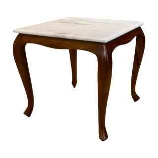 Boston Mills Corvus Marble Top Side Table