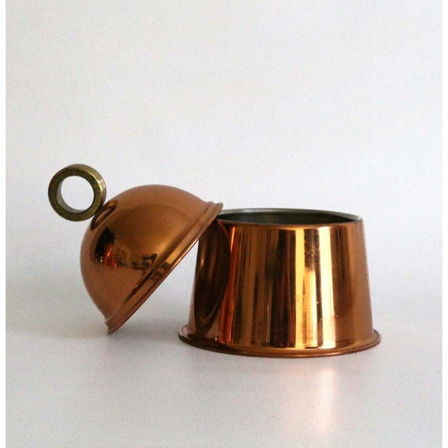 Copper Coffee Service - Set of 3 - Image 7 of 8