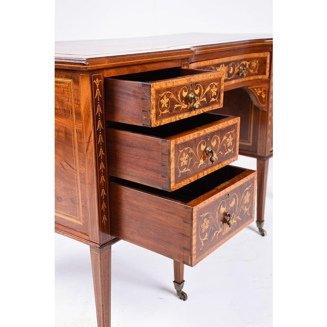 Antique Edwards & Roberts English-Style Desk - Image 6 of 11