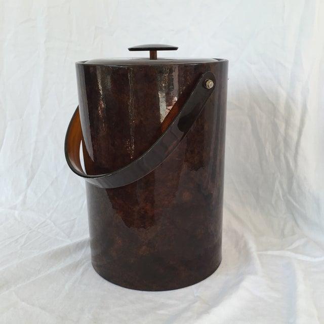 Image of Patent Tortoise Shell Ice Bucket