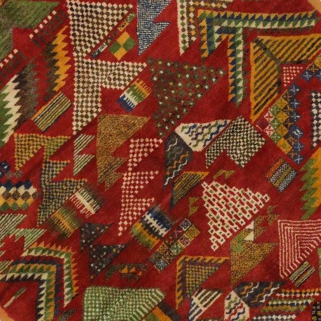 Vintage Berber Moroccan Rug -- 5'4 x 8'2 - Image 4 of 4