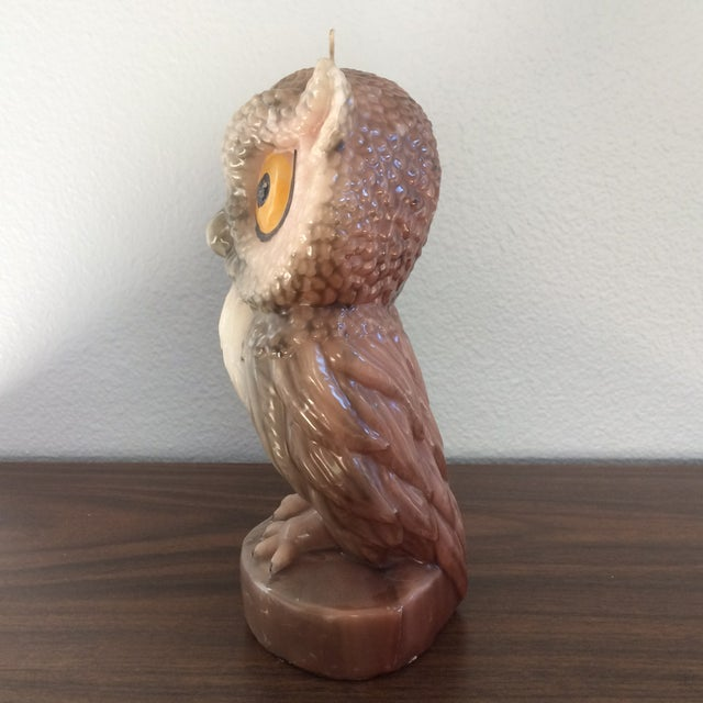 Vintage Owl Candle - Image 4 of 11