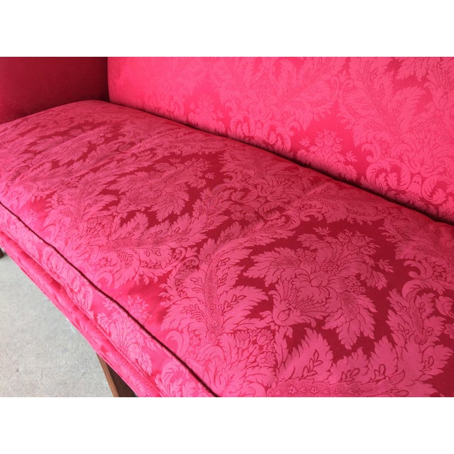 Chippendale Style Camel Back Sofa - Image 4 of 11