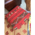 Image of Red Moroccan Floor Pillow