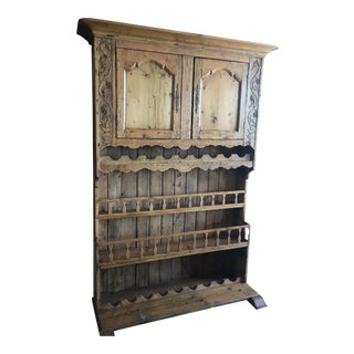 Antique European Wine Hutch