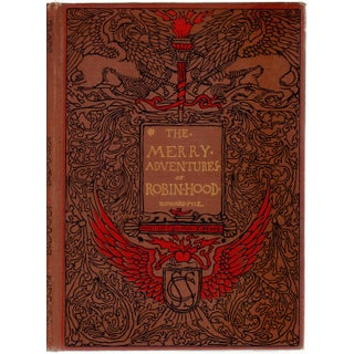 """""""The Merry Adventures of Robin Hood"""" Hardcover Book by Howard Pyle"""