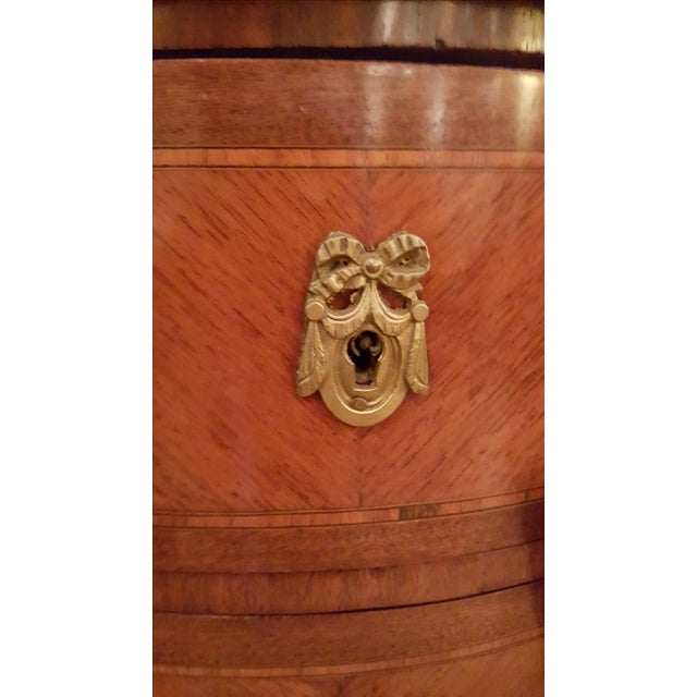 French Louis XVI Style Chest of Drawers/Nightstand - Image 2 of 5