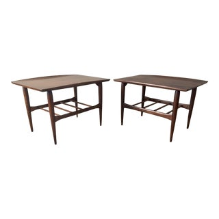 Bassett Side Tables - Pair