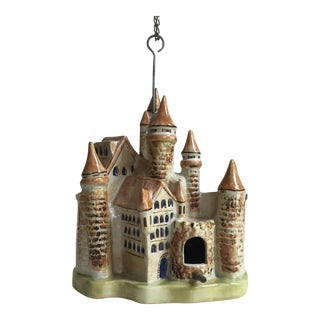 Louisville Stoneware Pottery Castle Bird House