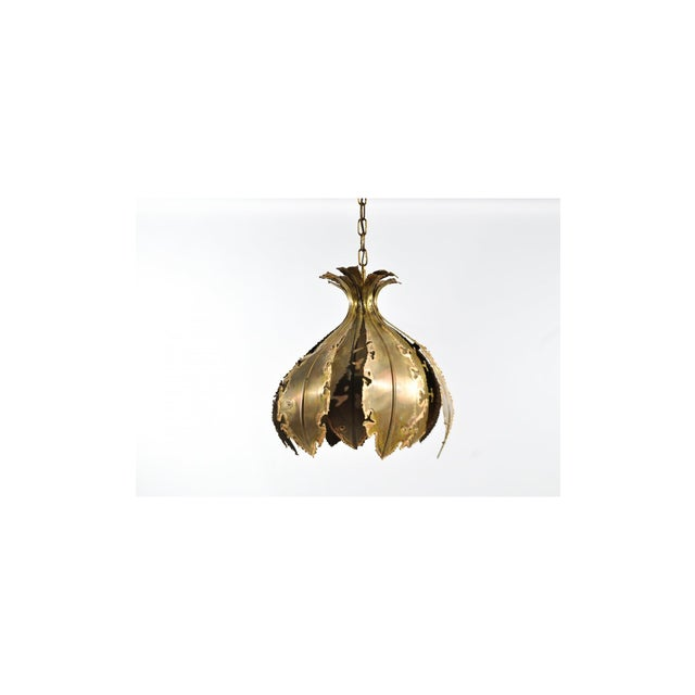 Danish Brutalist Pendant - Image 2 of 6