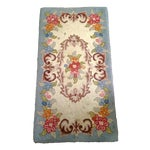 Image of Hand Hooked Wool Rug Pair - 5′5″ × 2′2″