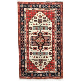 Rast Semi-Antique Persian Rug - 3′1″ × 5′5″