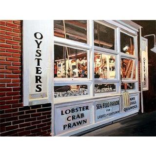 Josh Moulton Giclee Print - Oyster Bar