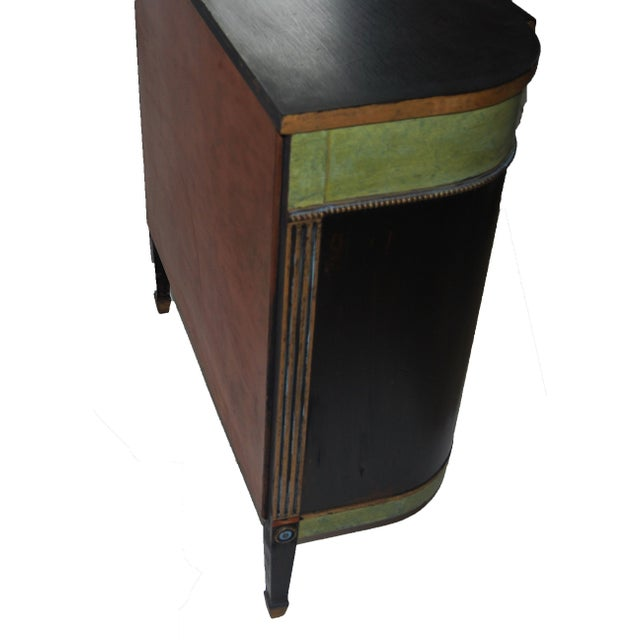 Image of Federal Style Mahogany Painted Cabinet Table